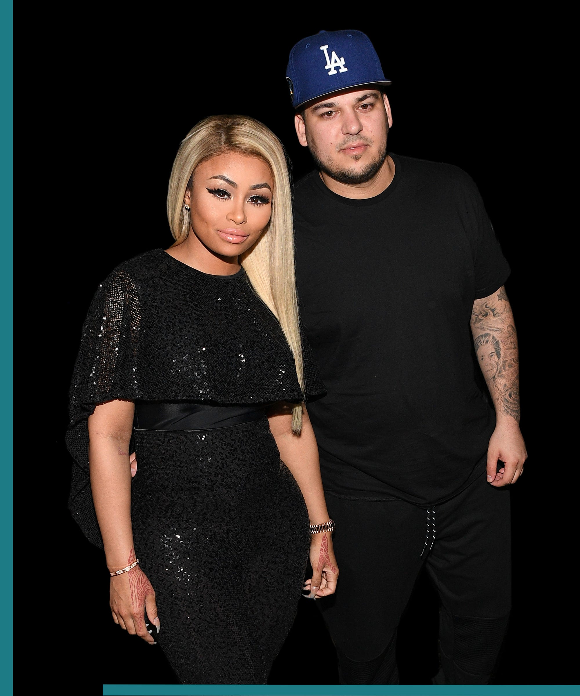 Rob Kardashian & Blac Chyna Clash Over Their Daughter Appearing On TV