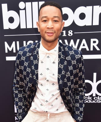 John Legend Billboard Music Awards Red Carpet