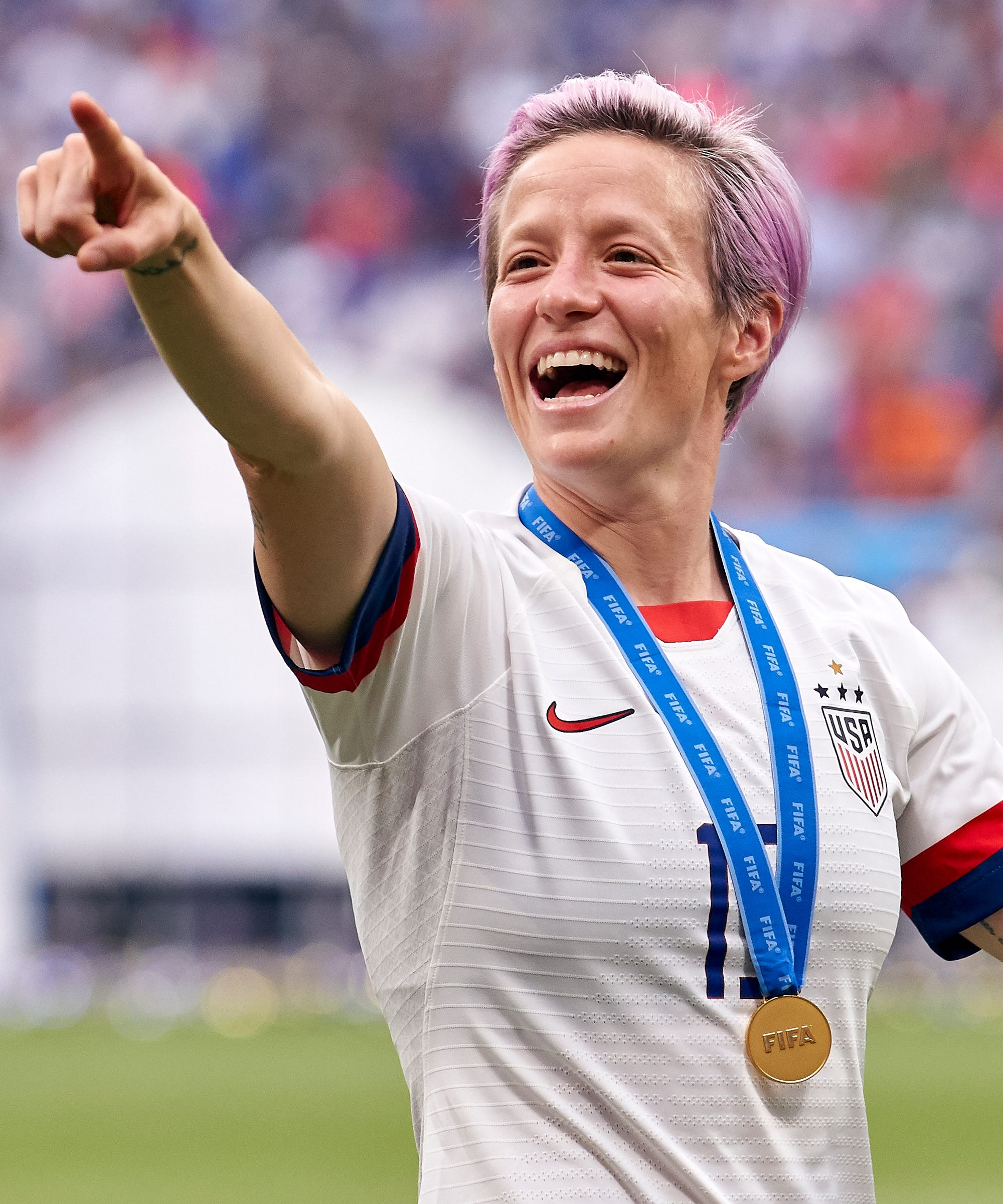 Megan Rapinoe Has Defied — and Redefined — What It Means to Be Patriotic