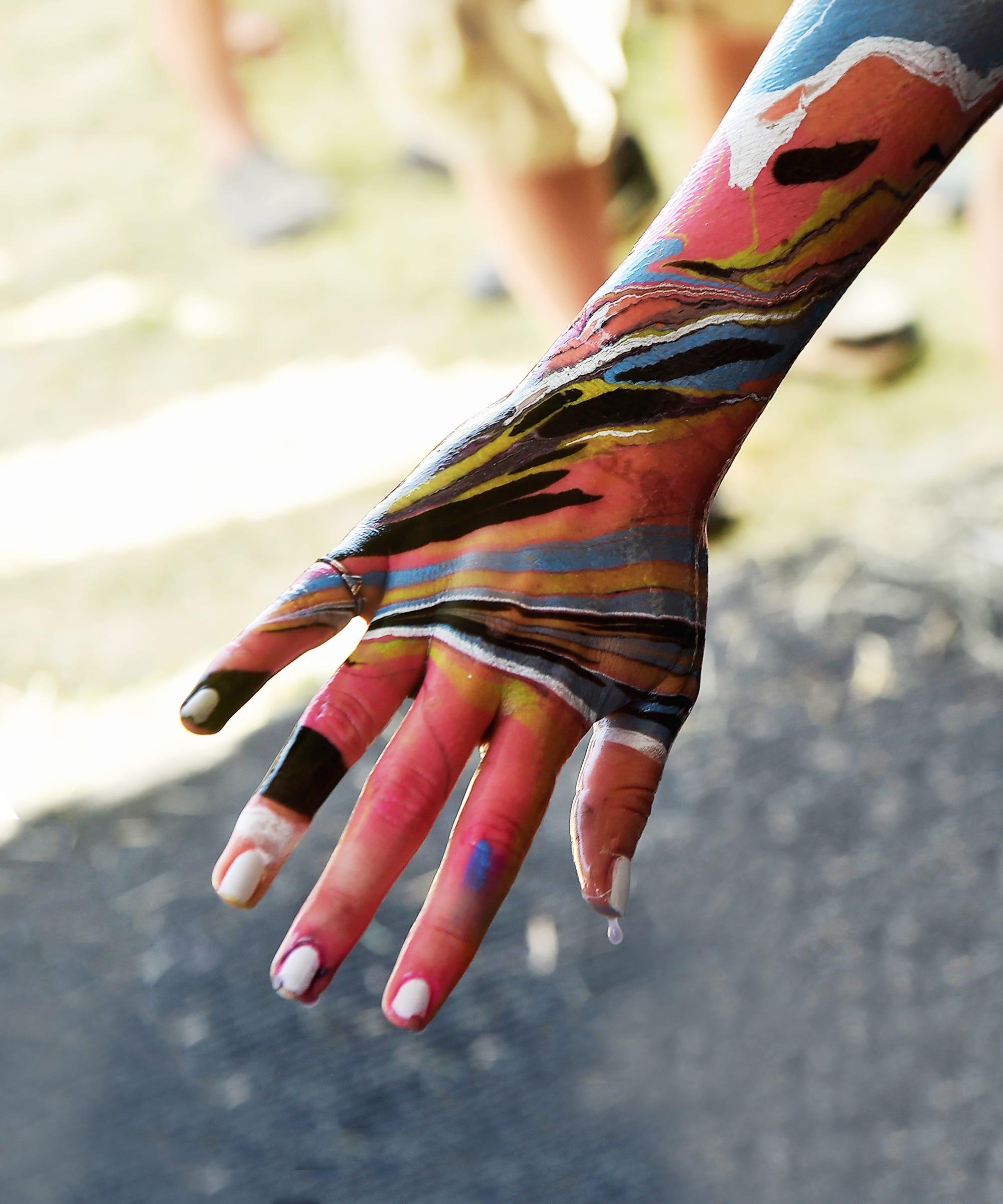 Body Marbling - Temporary Bod Dye