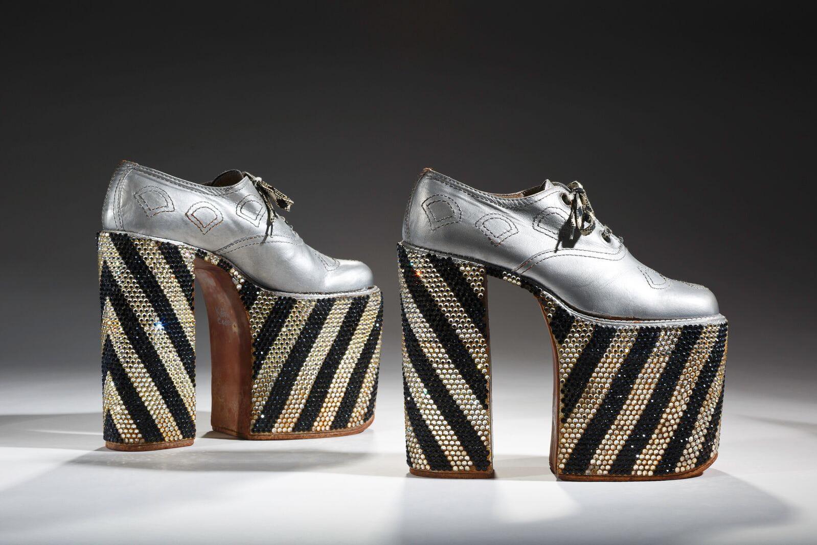 2541d38e9733 History Of Men In Heels - Shoe Exhibit