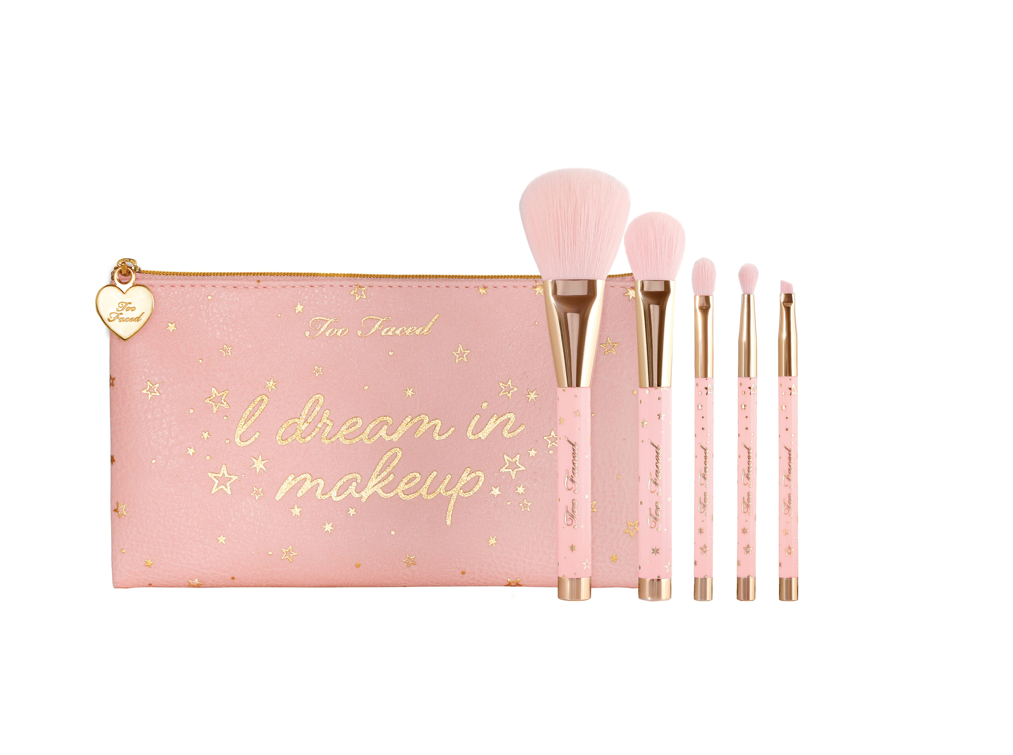 Too Faced New Holiday Christmas 2018 Makeup Collection Crazy 8 Set Make Up Brush 12 Pieces