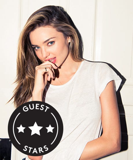 Miranda Kerr, Like You've Never Seen Her (Or Her Closet!)
