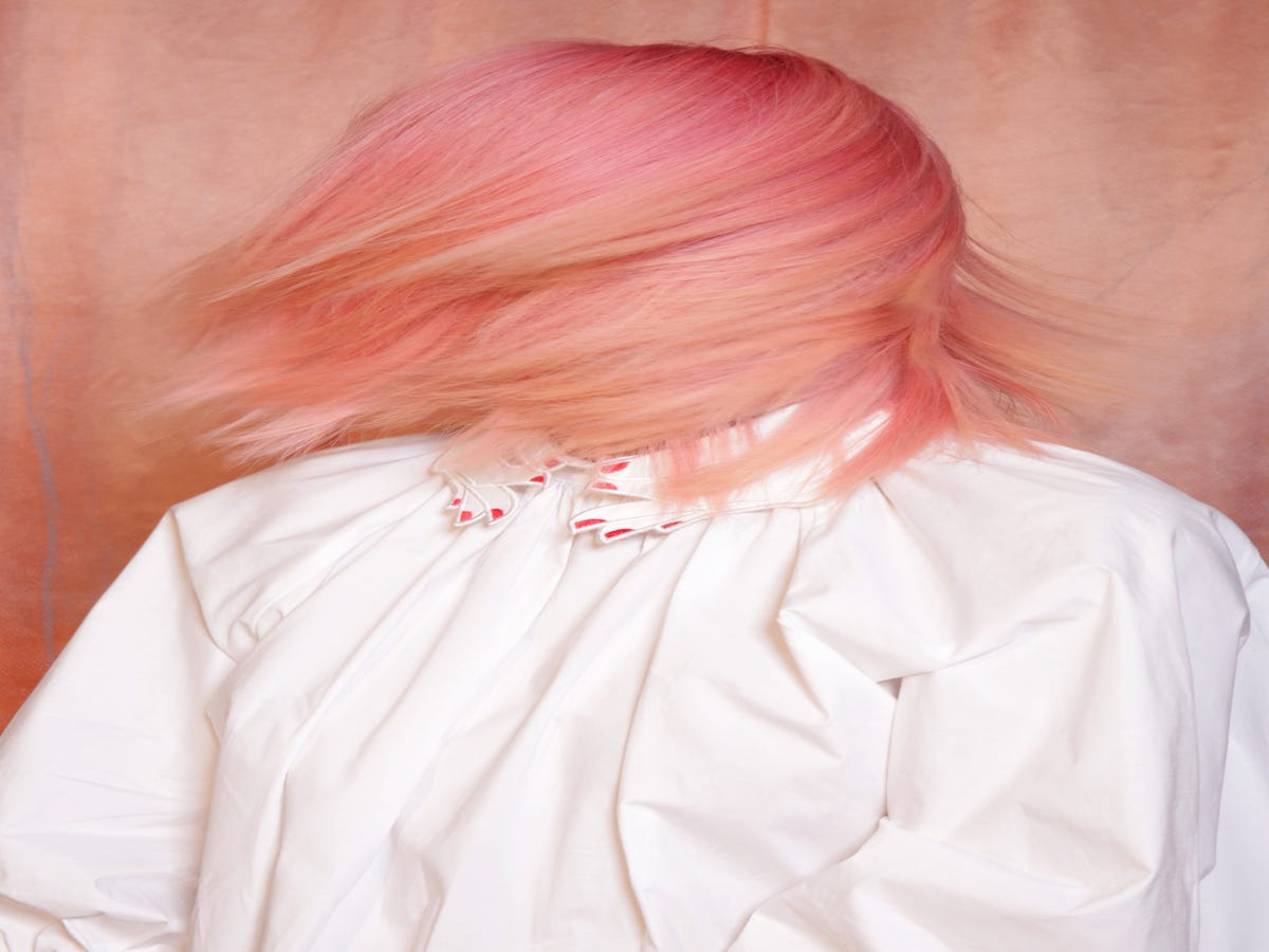 Peach Is The Official Hair Color Trend Of Summer — But There s A Twist
