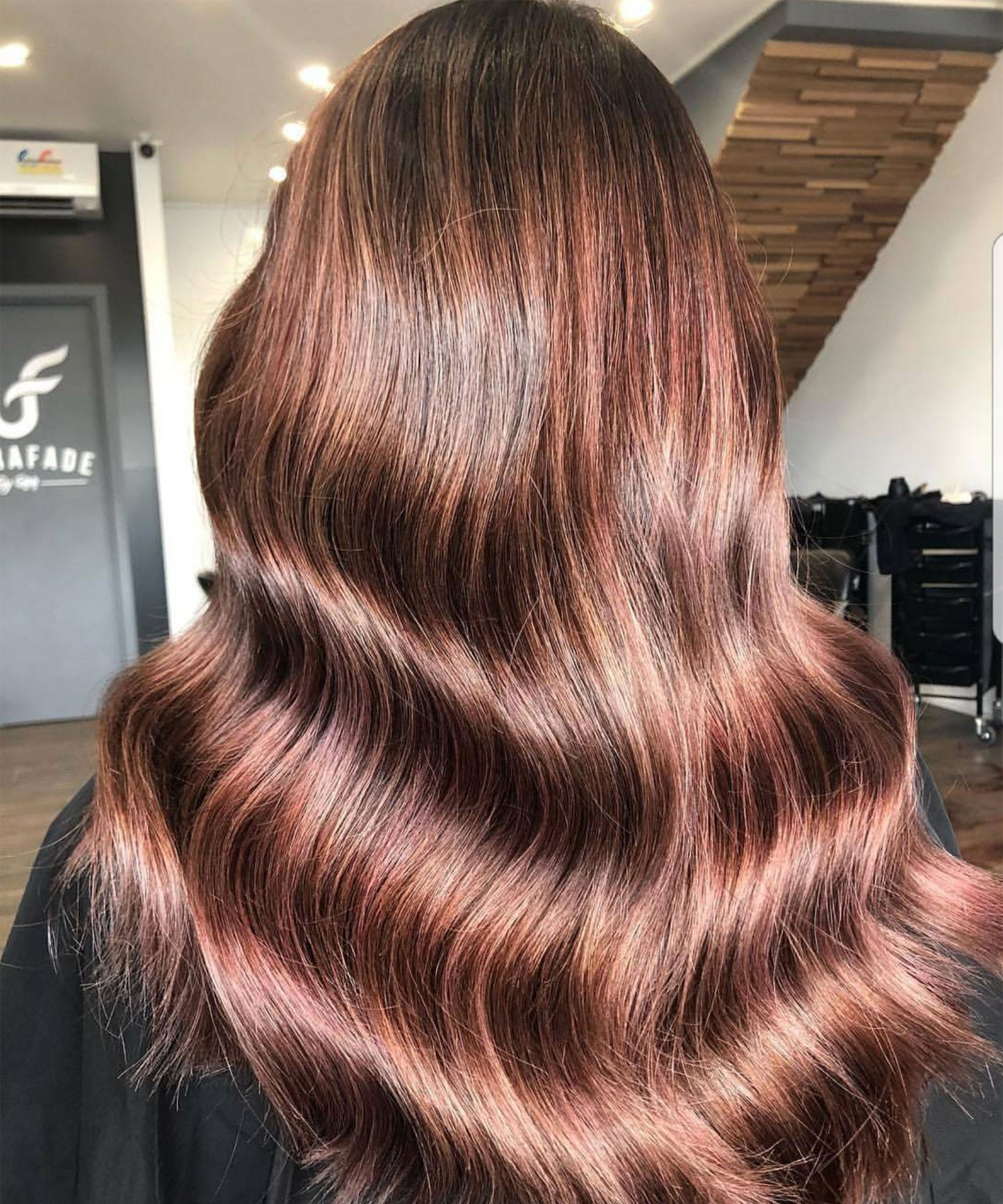 Rose Brown Spring Hair Color Trend For Brunettes