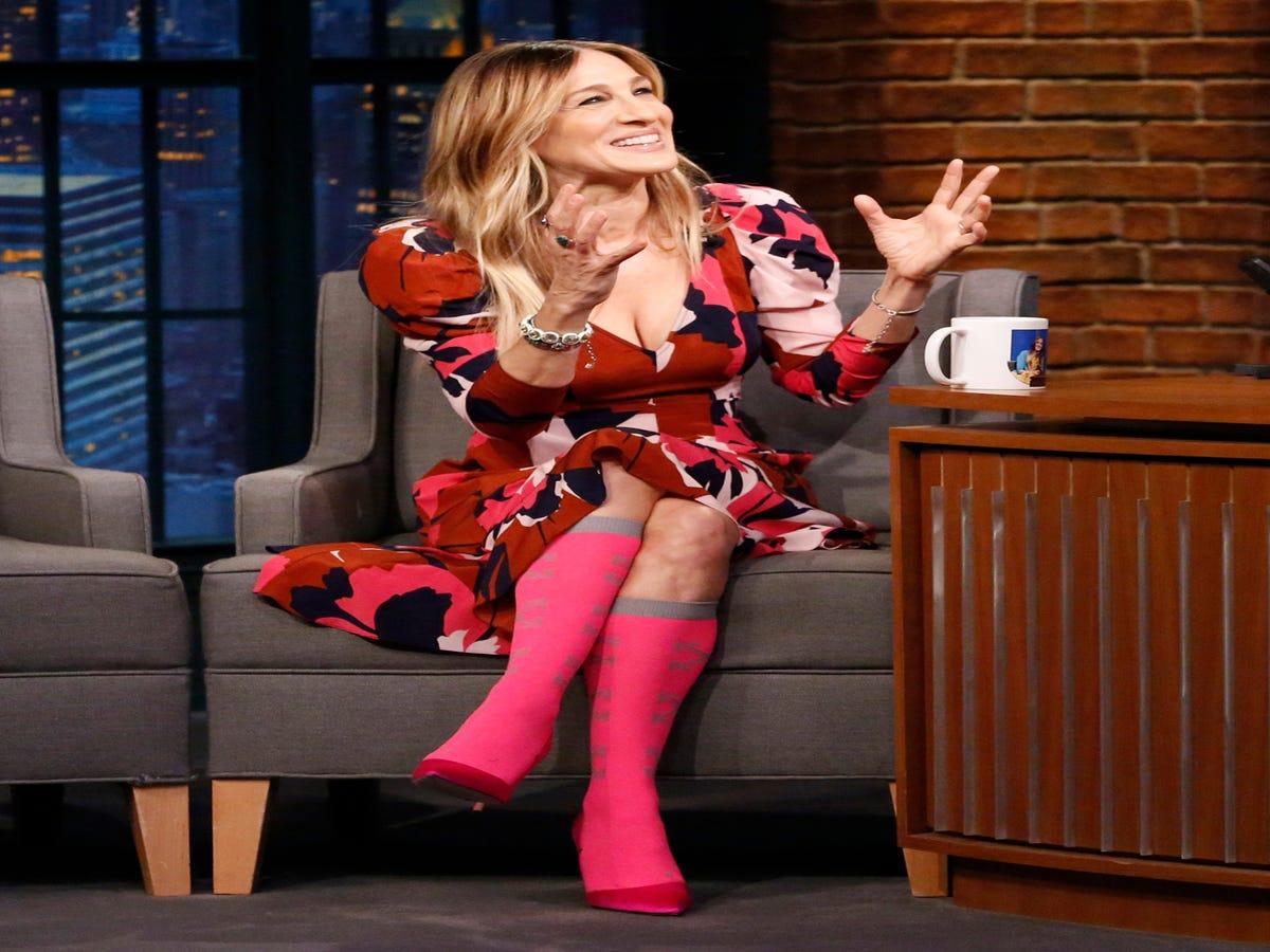 Sarah Jessica Parker Likes Dad Socks More Than You