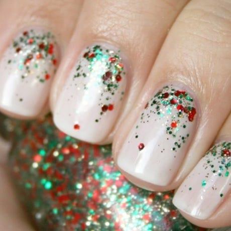 Holiday Nail Art Designs Christmas Nails 2013
