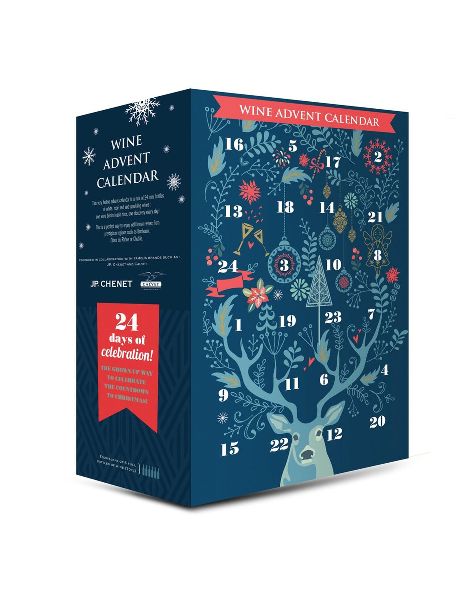Aldi Wine Advent Calendar, Adult Advent Calendar