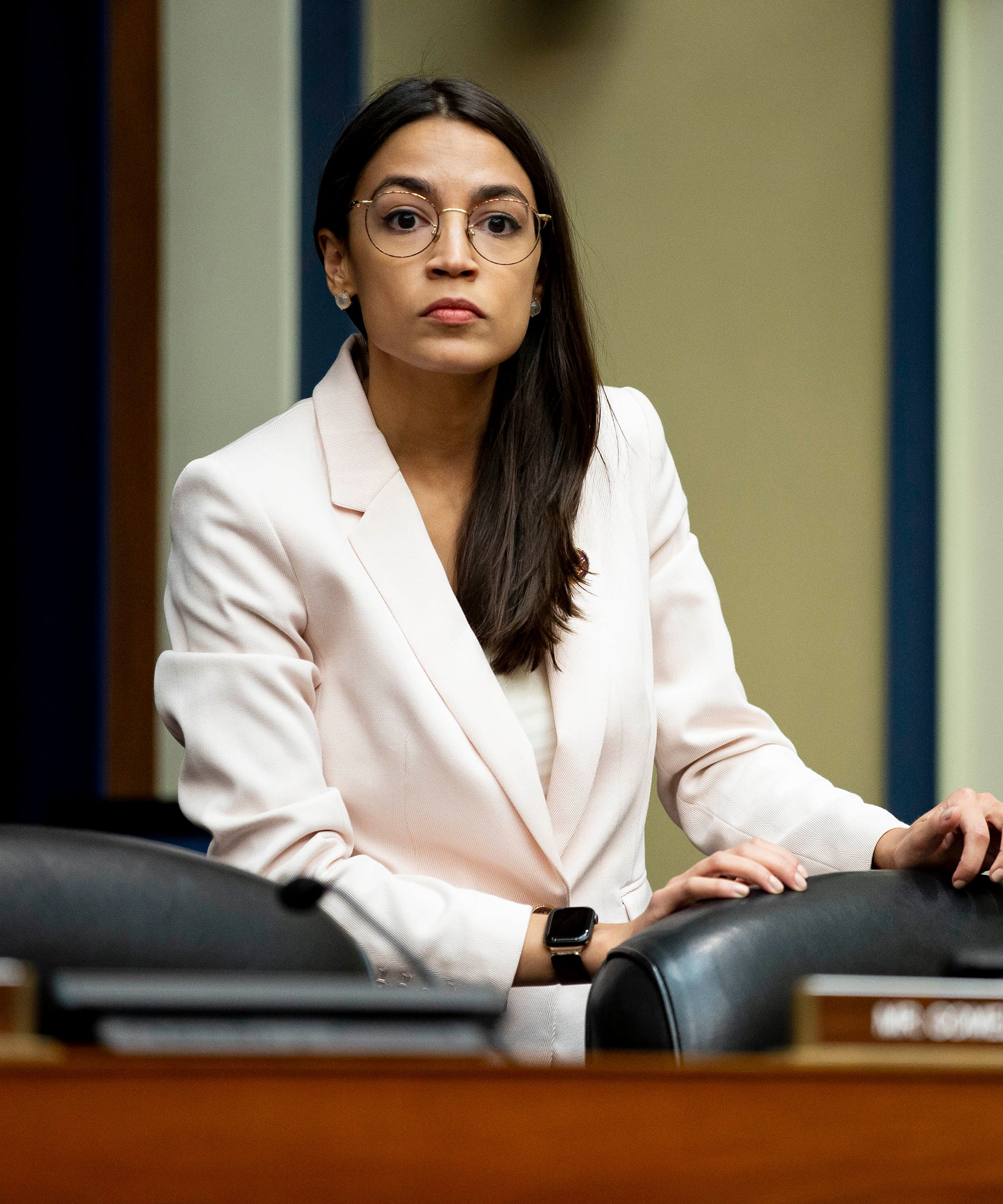 Man Arrested After Breaking Into AOC's Office & Spraying Fire Extinguisher At Police