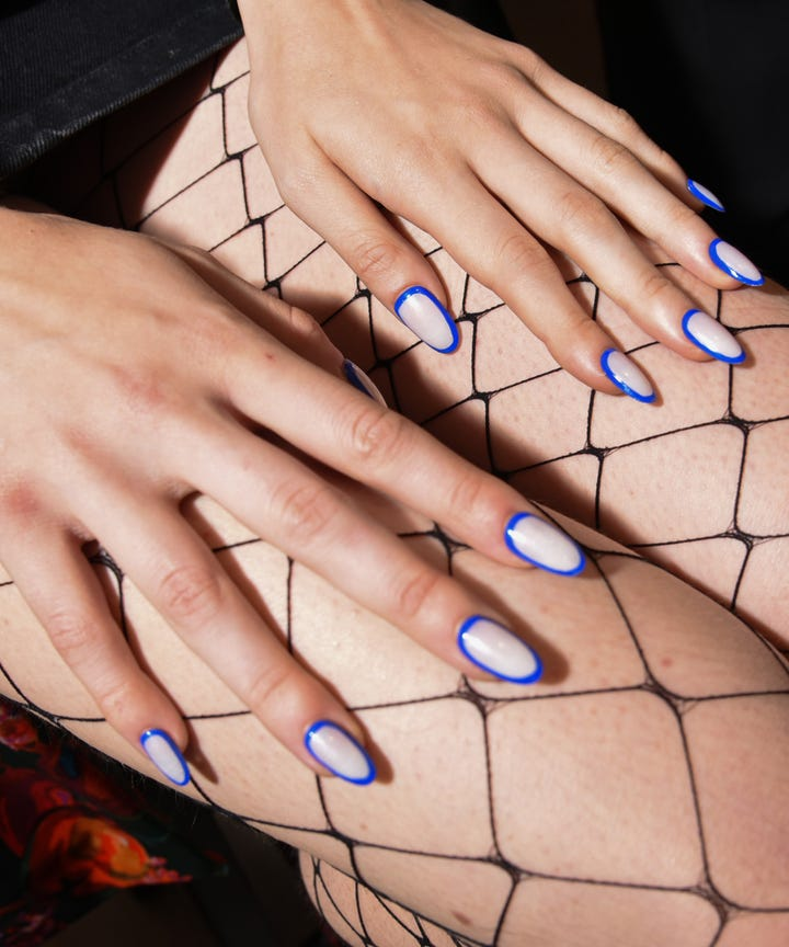 Introducing Orbit Nails The Fall Nail Art Trend That S Nyfw Roved