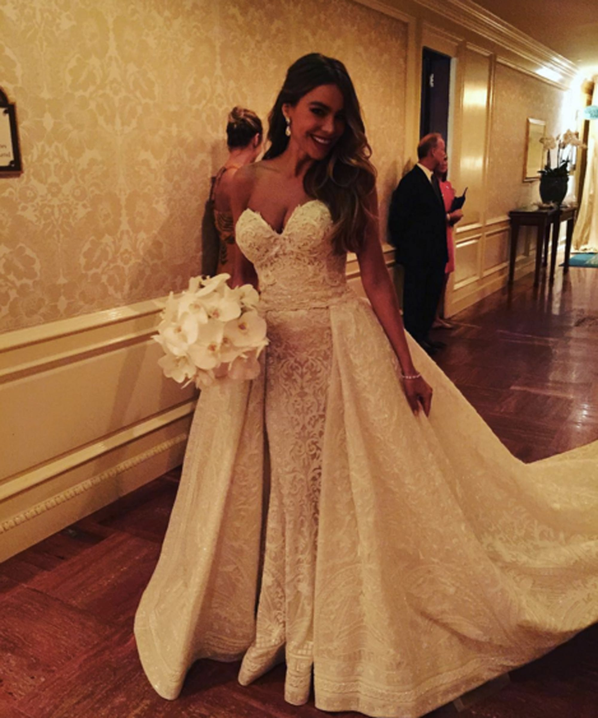 Sofia Vergara Wedding Photos Joe Manganiello