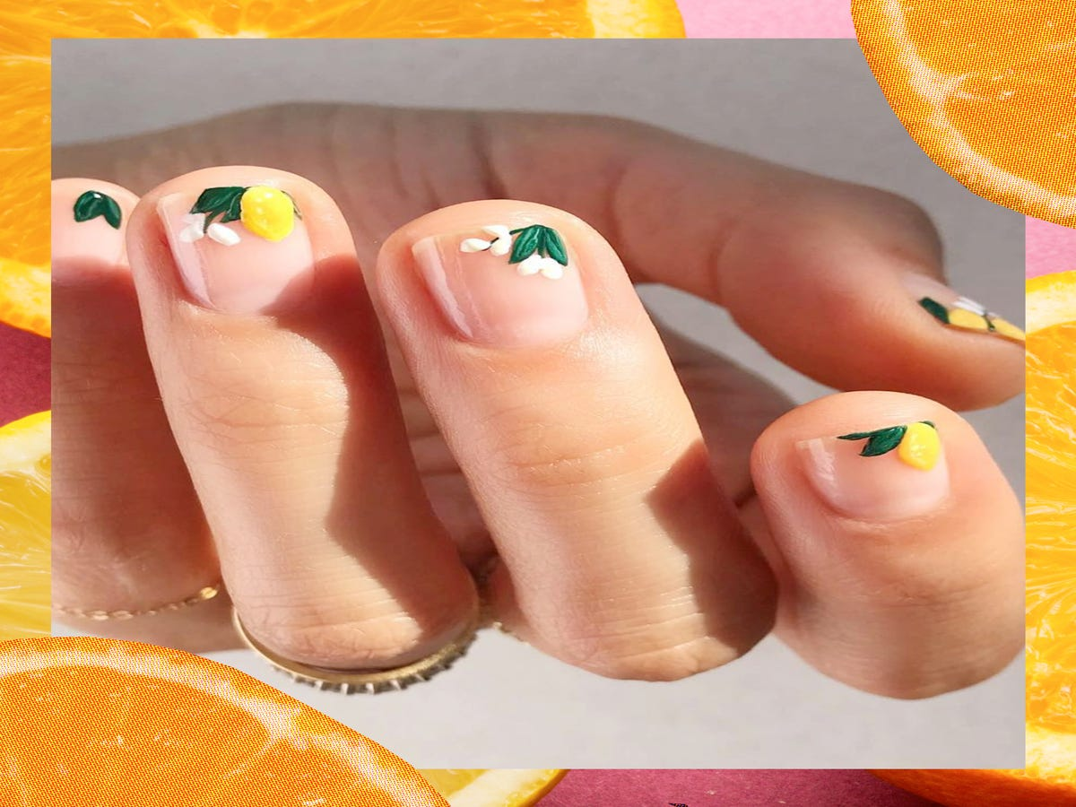 This Fruity Nail Art Trend Is Delightfully Refreshing