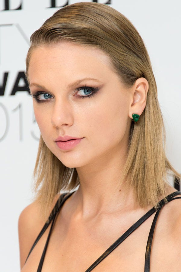 Taylor Swift Hair Journey From Long Curls To Blonde Bob