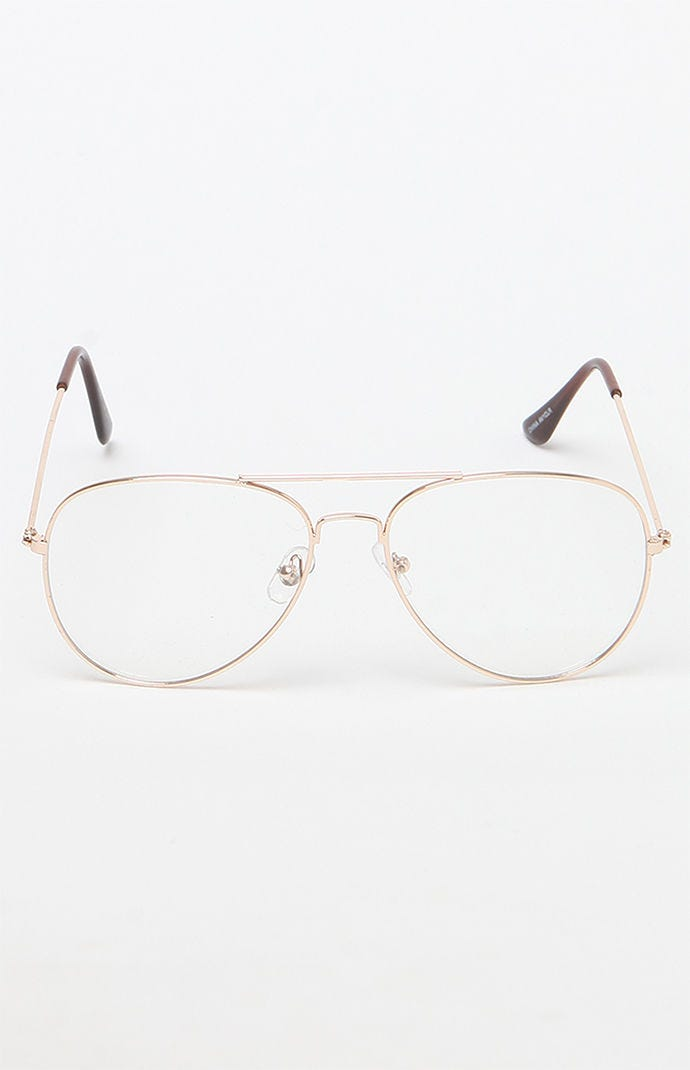 ca96f910446 Clear Aviator Glasses Trend - Topshop Ray Ban Pacsun