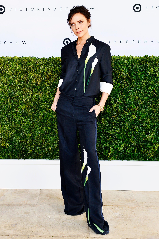 b4e16bbcb Victoria Beckham Target Best Clothing Celebrity Looks