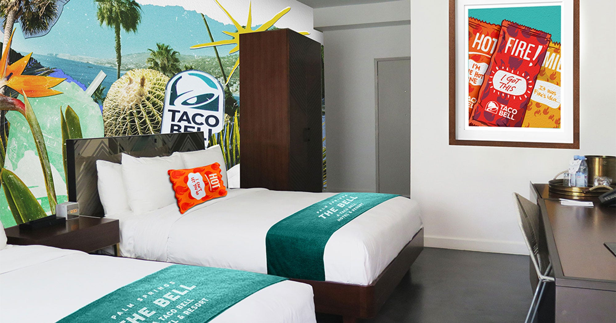 Attention Taco Lovers: Here's How To Book A Stay At The Taco Bell Hotel