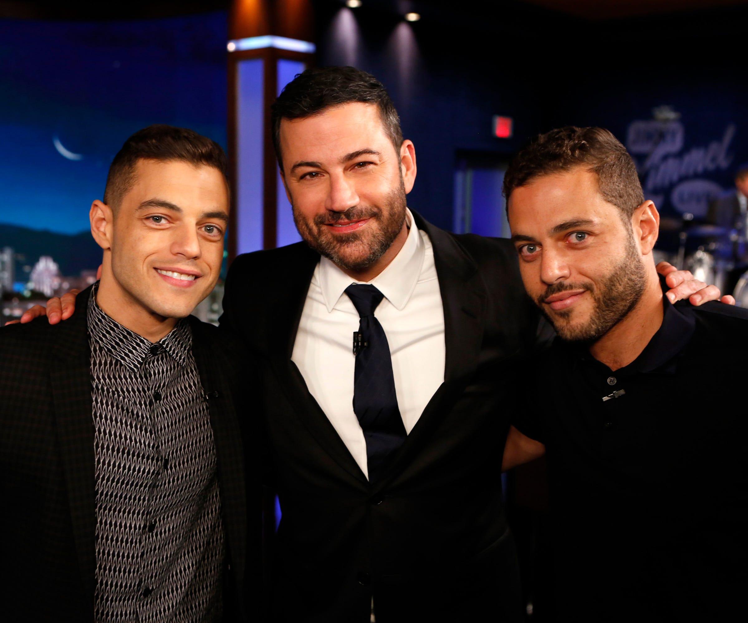 Is Rami Malek Twin Brother His Oscars Date