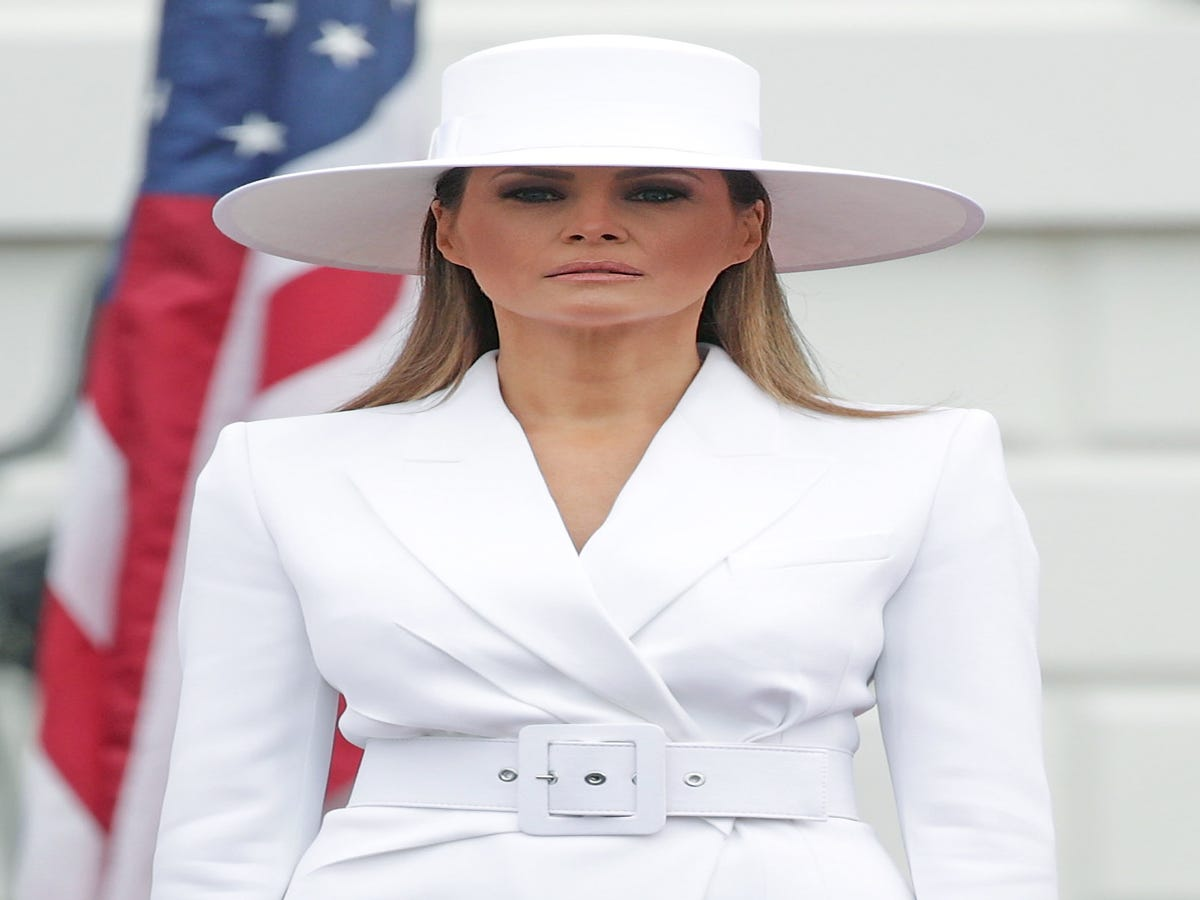 Melania Trump s Body Language In Her Birthday Pic Says She s All Alone, According To An Expert