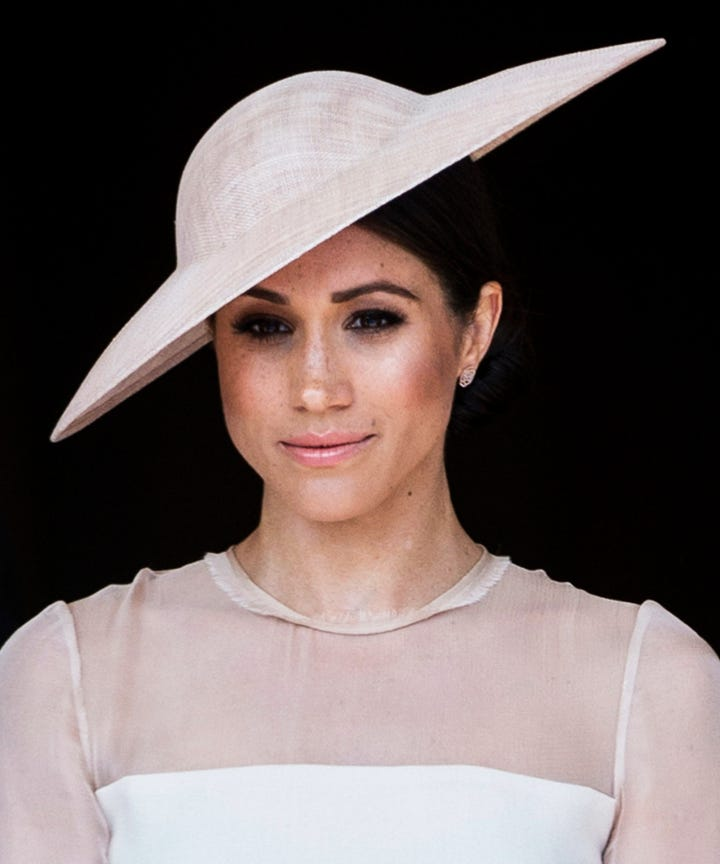 Meghan Markle Inspires People To Get Freckle Tattoos