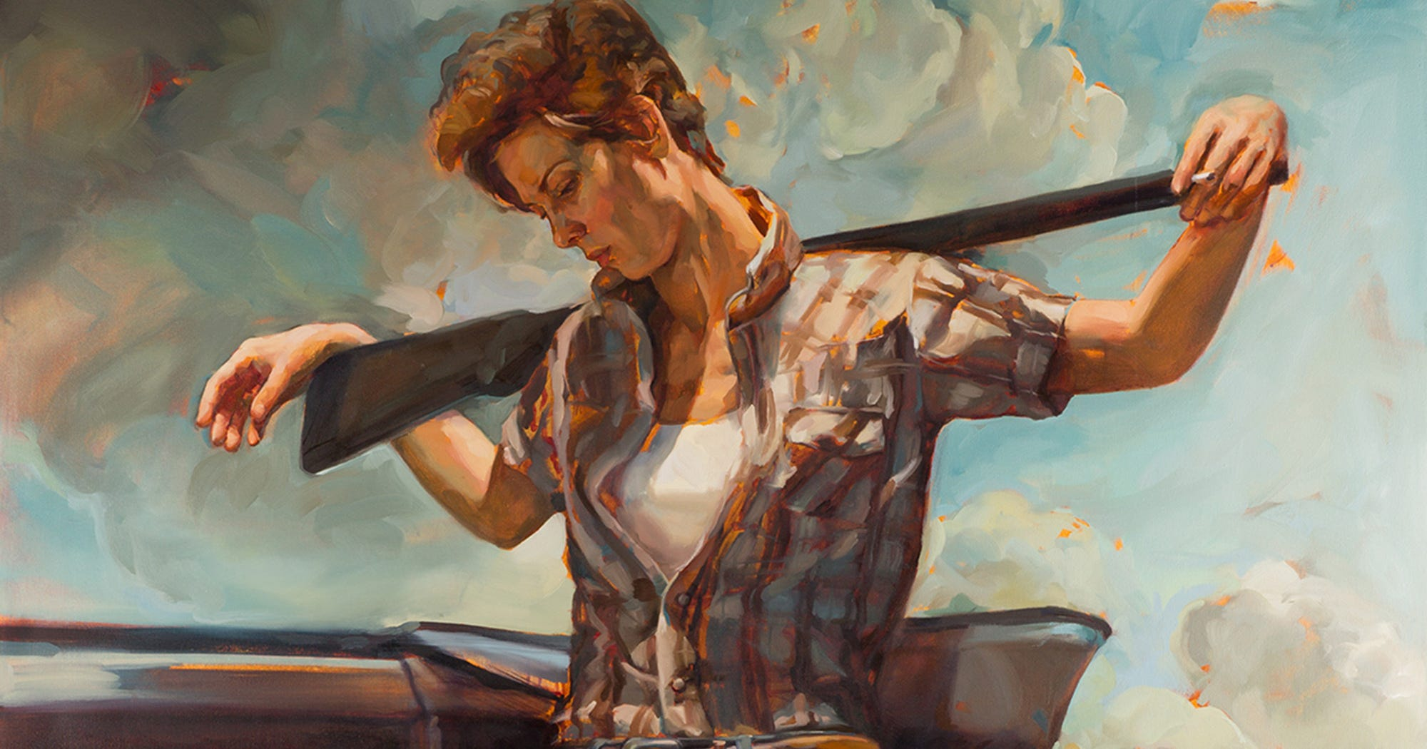 Artist Replaces Classic Cowboys With Women & It's Amazing