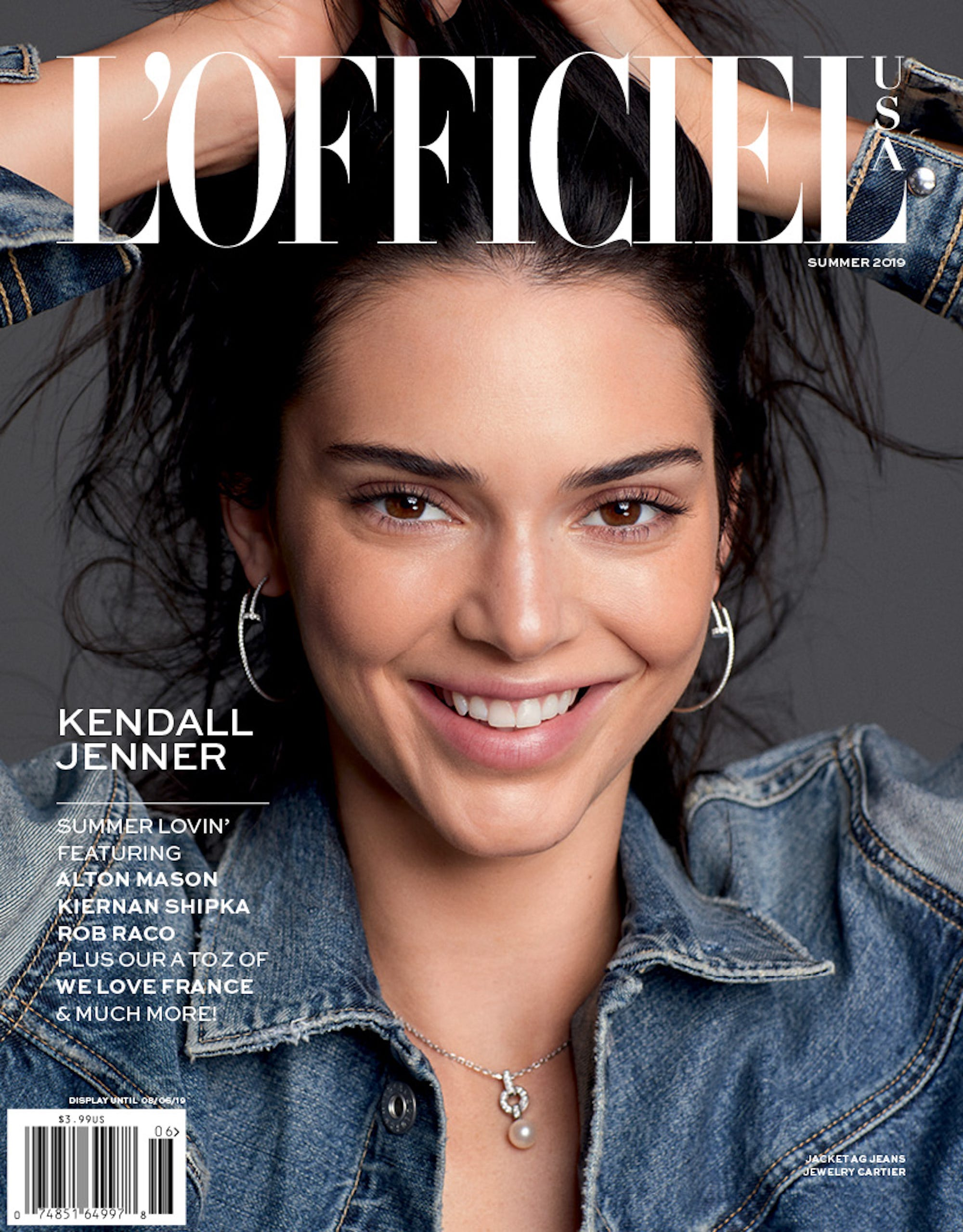 """Exclusive: Russell James Shoots Kendall Jenner For L'Officiel — & Defends Her Status As A """"Supermodel"""""""