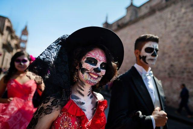 dia de los muertos catrina photos halloween costume