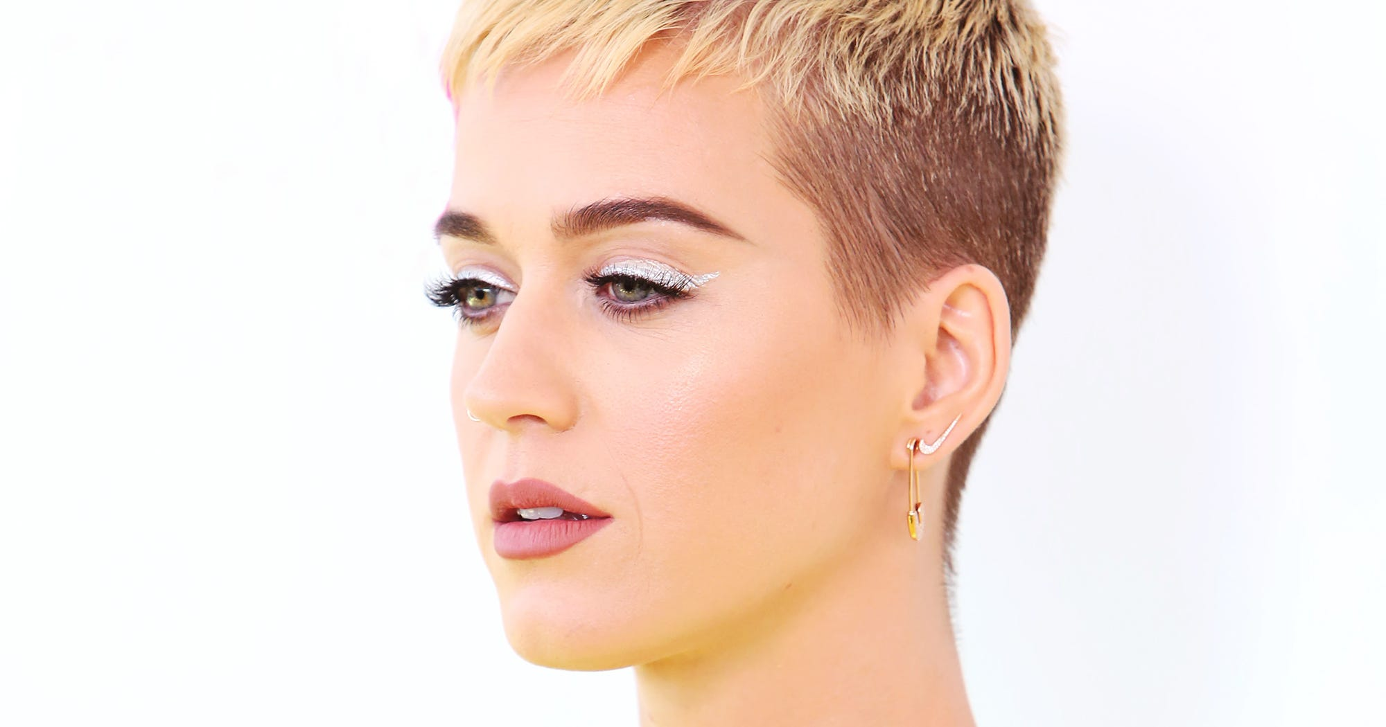 katy perry pixie hair cut reason mental health