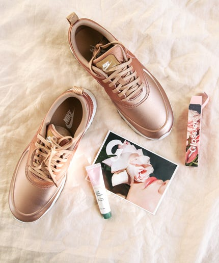 Rose Gold Nike Sneakers Bandier Capsule f459fe0c9981