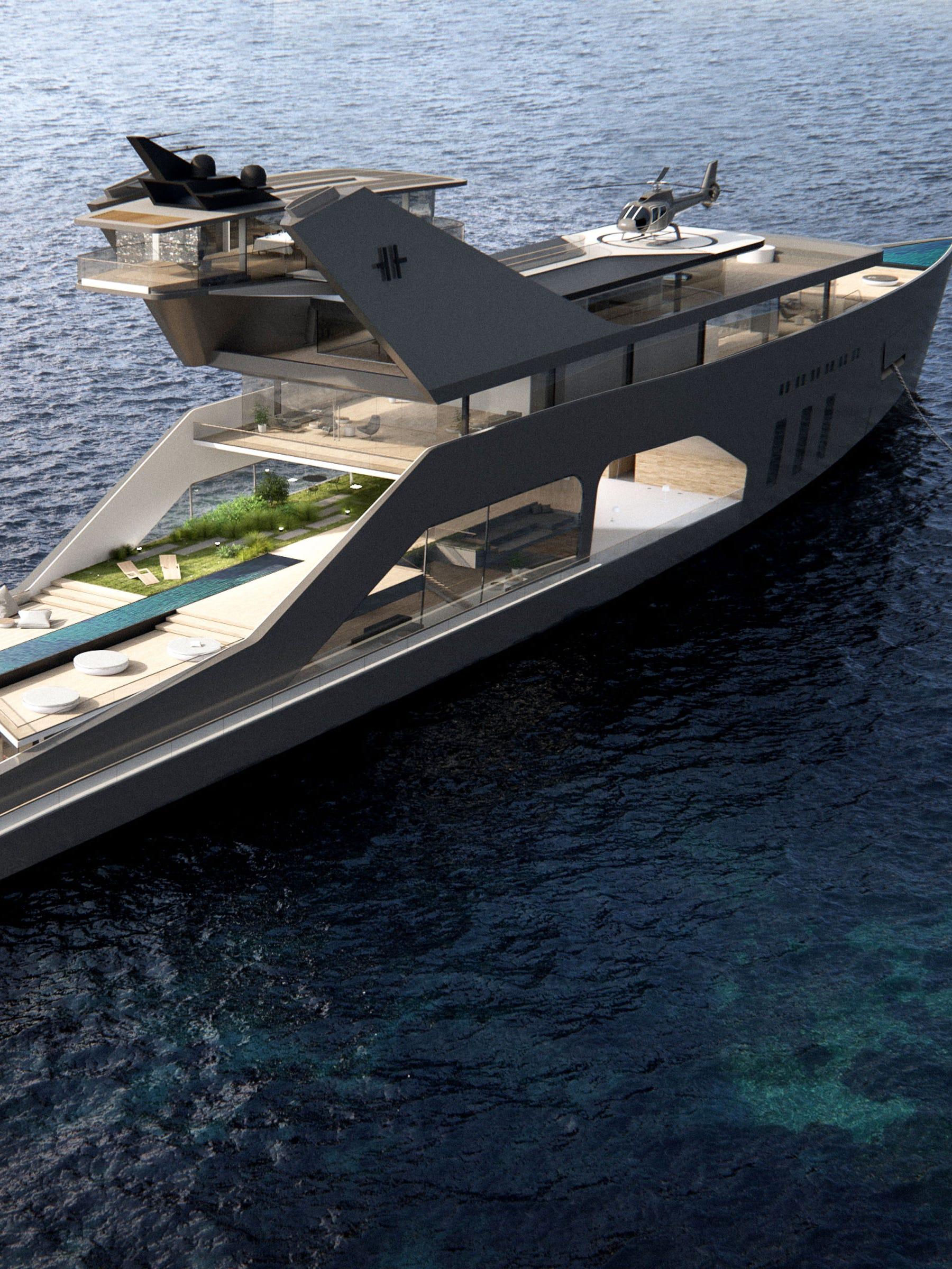 Hareide Design Norway 108M Mega Yacht