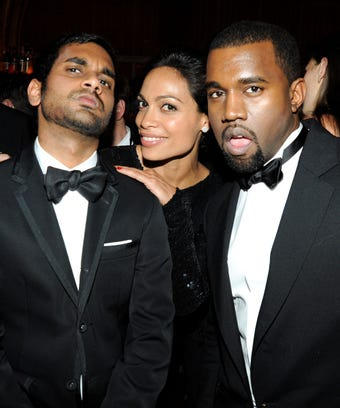 Aziz ansari kanye west friendship aziz ansari chats about his friendship with kanye west stopboris Choice Image