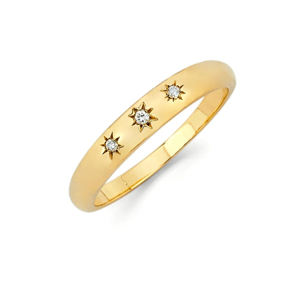 April Diamond Birthstone Jewelry - Rings, Necklaces