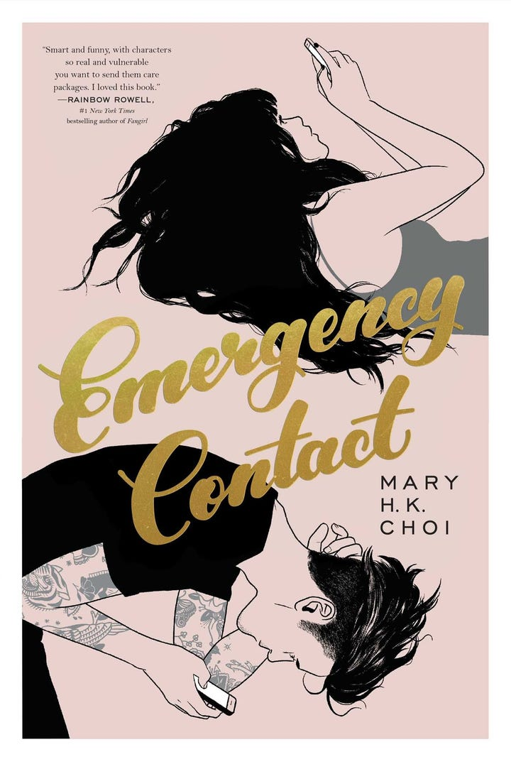 Emergency Contact By Mary HK Choi Out March 27