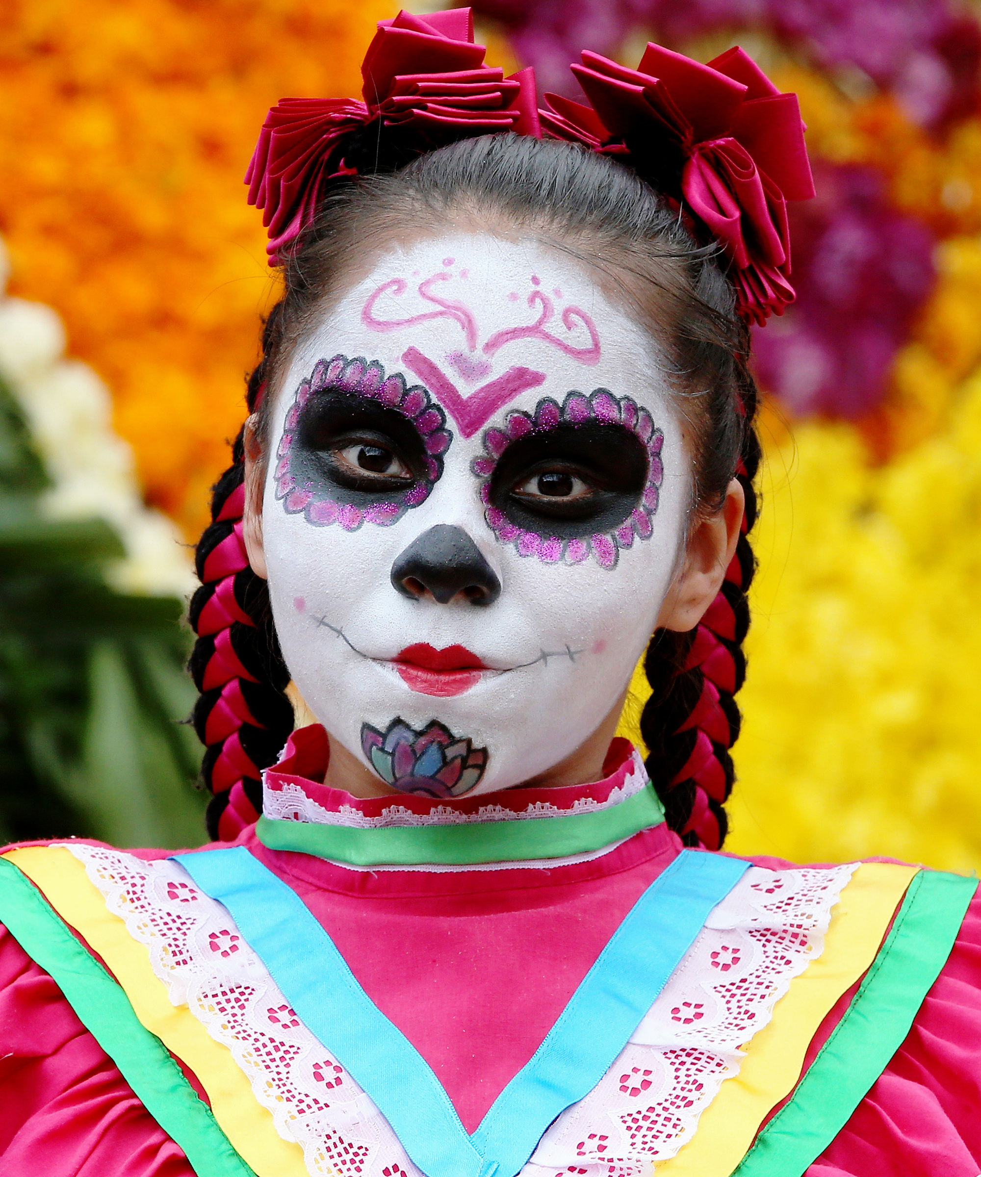 celebrity day of the dead makeup cultural appropriation