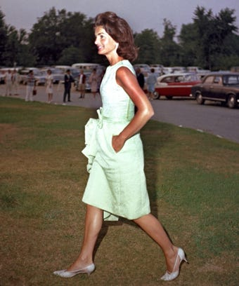 The One Thing You Never Noticed About Jackie O S Shoes
