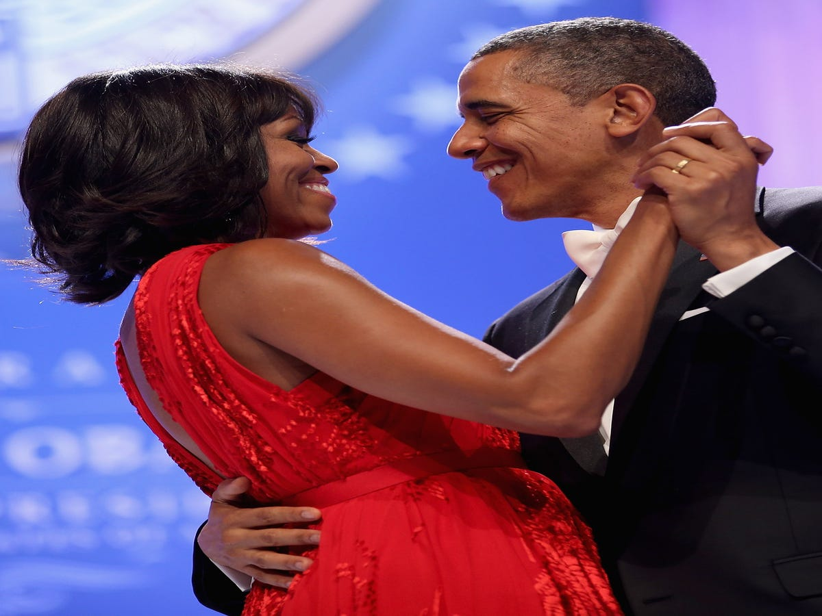Michelle & Barack Obama Are The Most Admired People In America