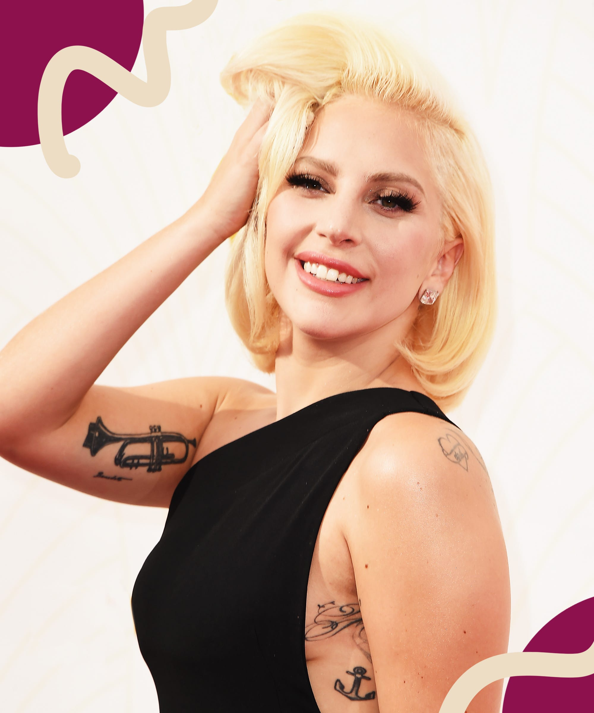 This Lady Gaga-Approved Tattoo Is Timeless — & Trending For Summer
