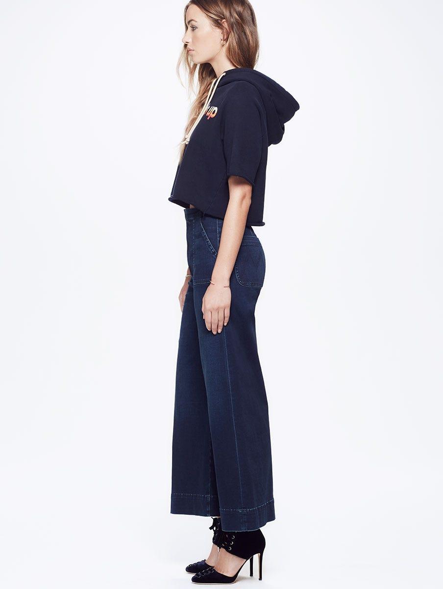 Clothing, Shoes & Accessories Obliging William Rast Womens Fringed Denim Asymmetrical Skirt 26 Waist Superior Materials