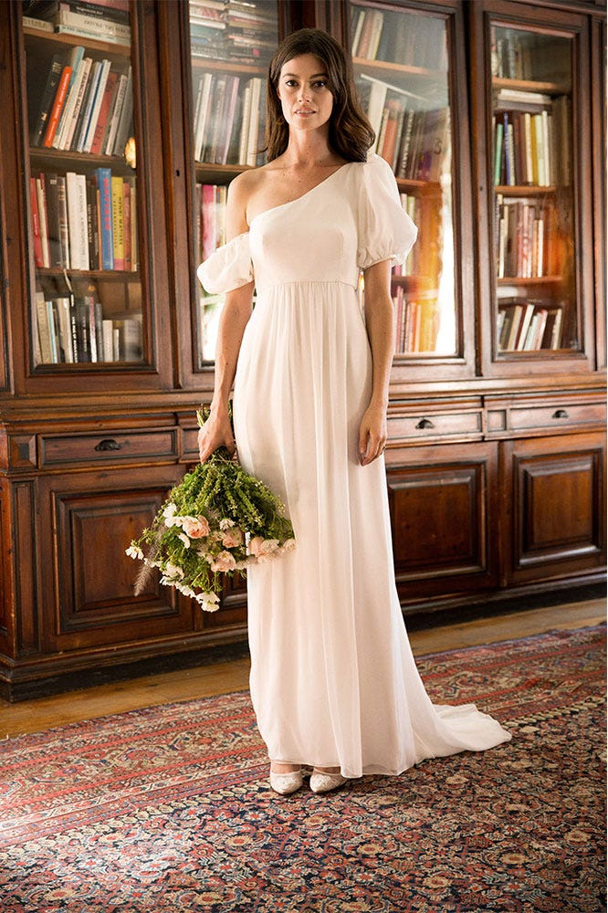 d89b6c29999 Pretty Wedding Day Looks From Indie Designers