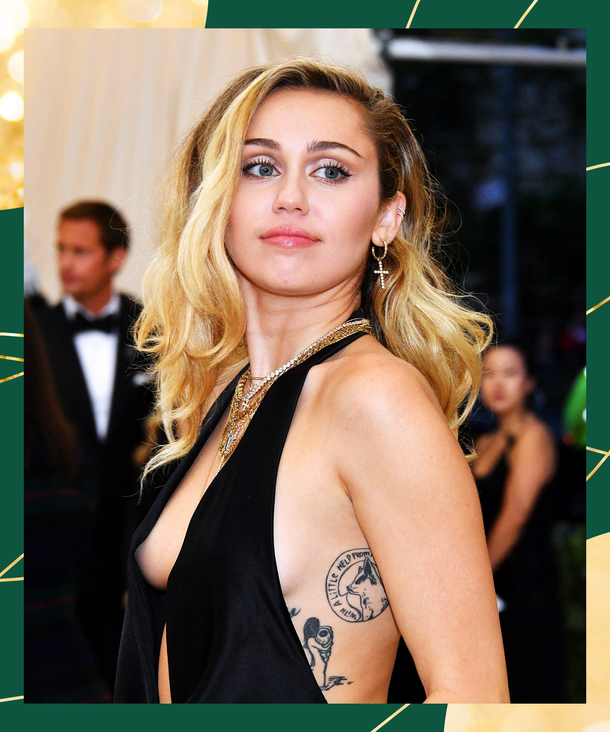 Miley Cyrus' New Tattoo Says Something About Her Breakup — & Kaitlynn Carter
