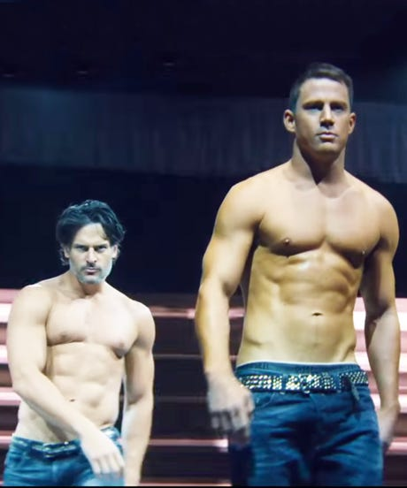 What It's Like To Spray Tan The Cast Of Magic Mike XXL
