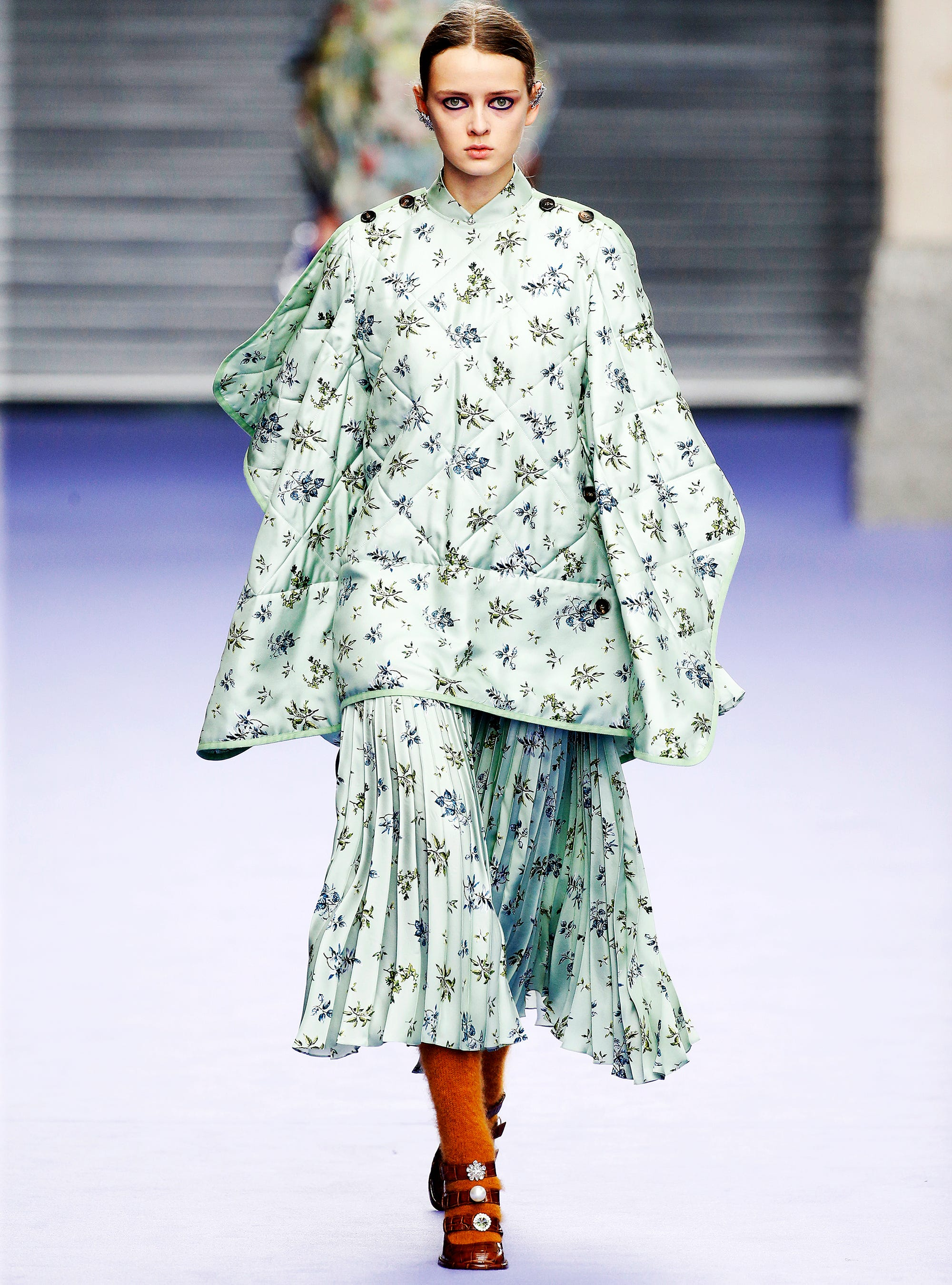 Mulberry Duvet Coat Trend Fall 2017 London Fashion Week 7114074e55df9