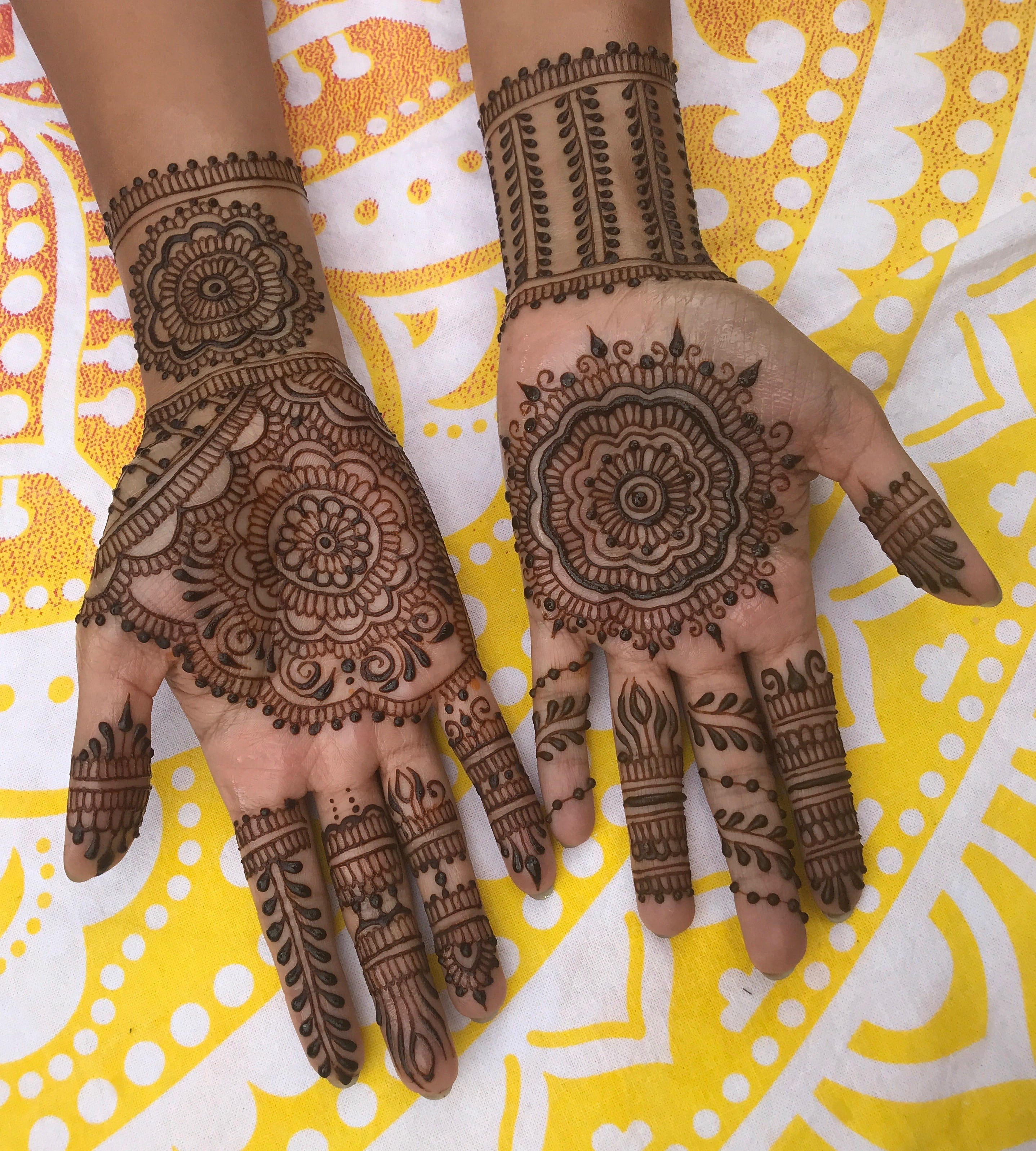 Priyanka Chopra Wedding Henna Tattoos Are So Meaningful