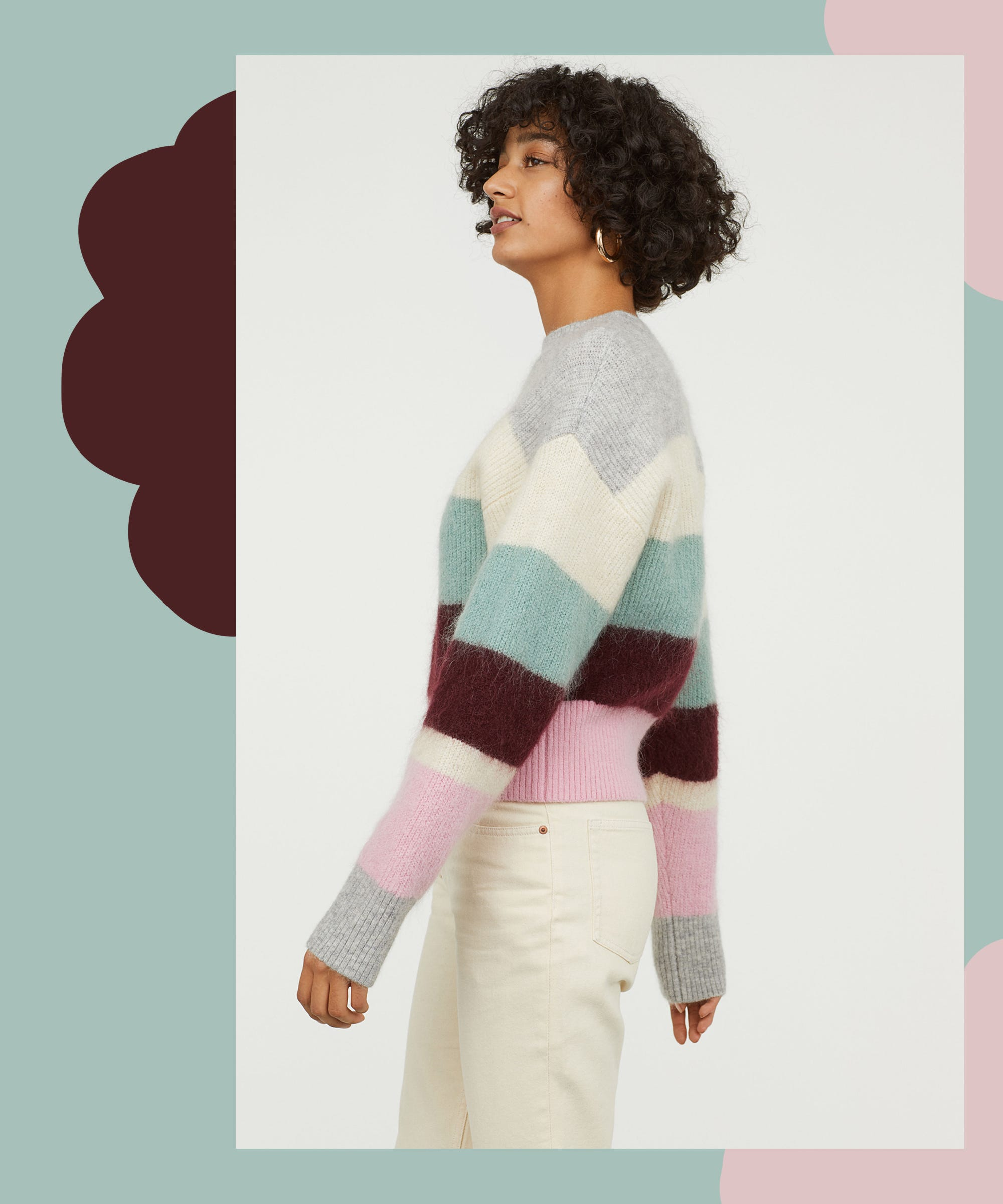 fd6780b2e0a Cute Striped Sweaters And Knitwear For Fall 2018