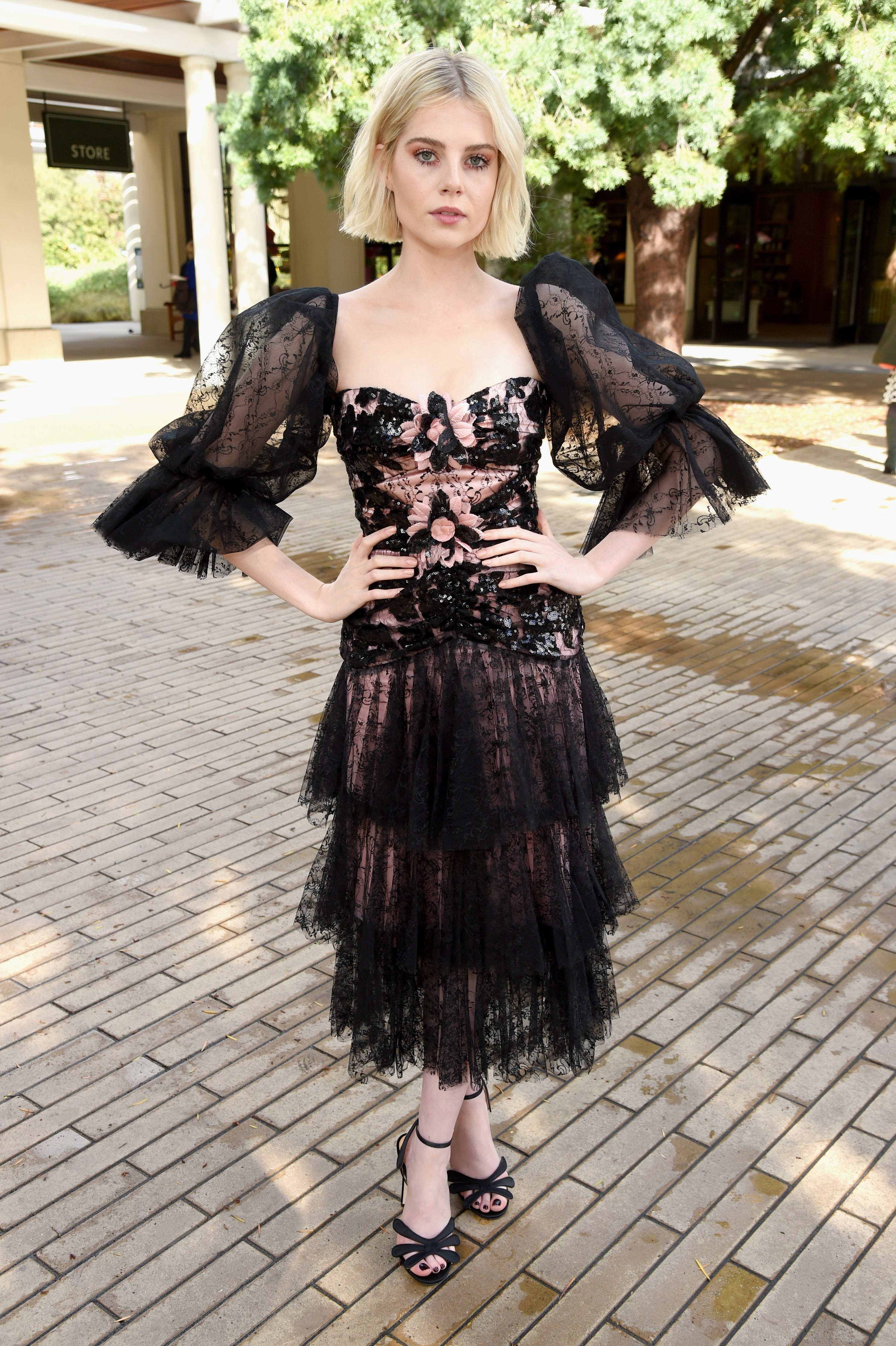 Lucy Boynton Tries Out Hollywood's Favorite Hair-Color Trend At The Met Gala