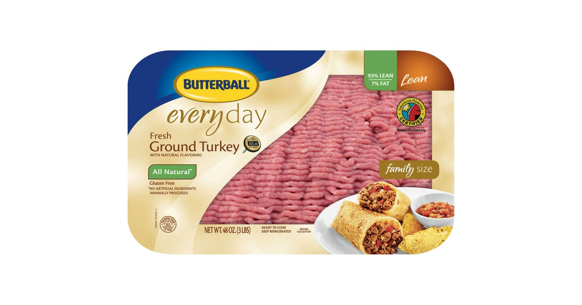Check Your Freezer — Butterball Is Recalling Ground Turkey Products Due To Salmonella