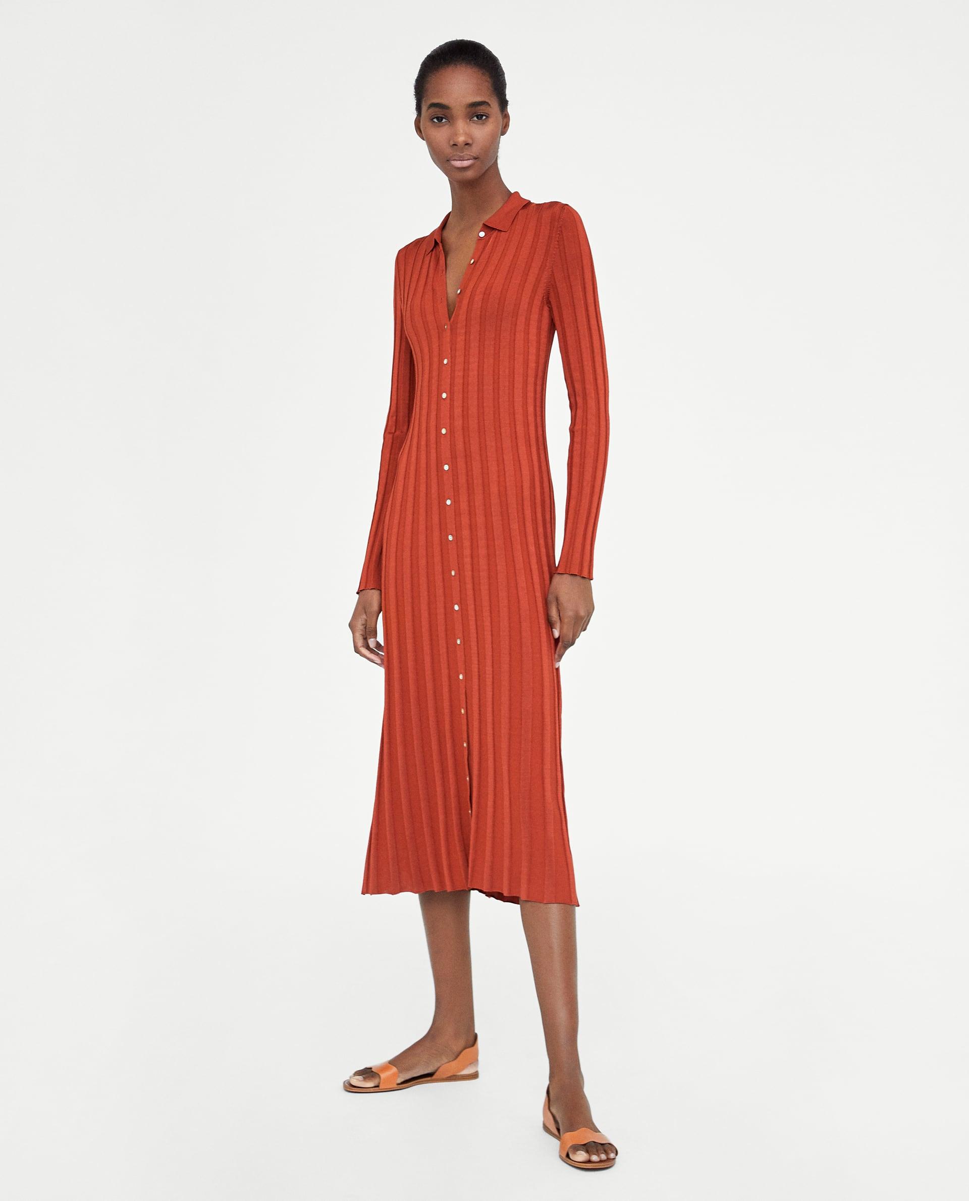 05df1970f8 Zara Midi Dress Trend Dresses For Women