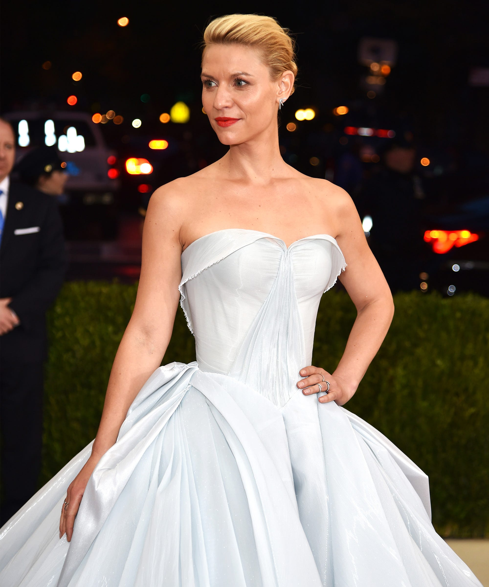 Claire Danes Zac Posen Illuminating Dress Met Gala 2016