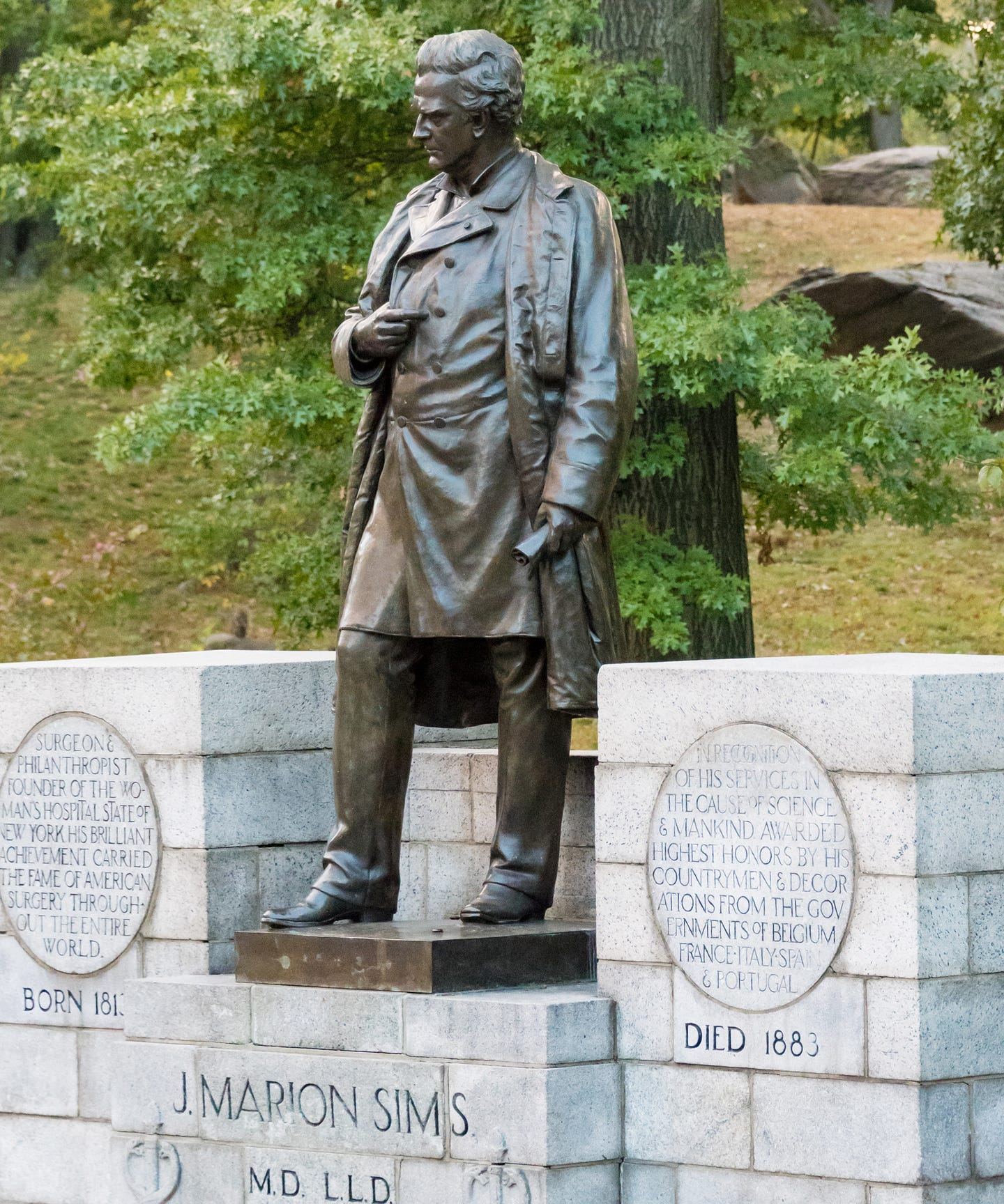 J. Marion Sims' Statue May Be Gone In Central Park, But His Racist Legacy Remains