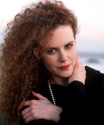 Nicole Kidman Hair Natural Curls Texture Young Ringlets