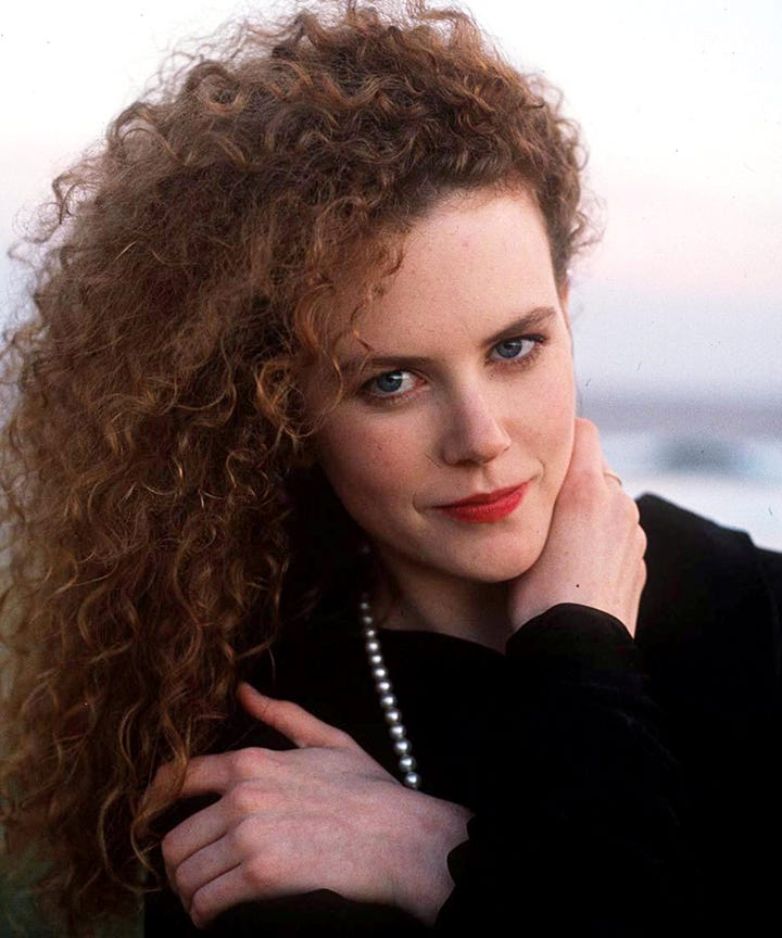 Nicole Kidman Hair Natural Curls Texture Young Ringlets
